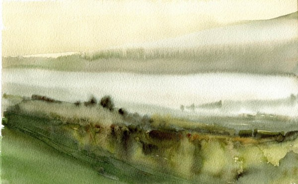 CA Coast Watercolor_11.25X7.25